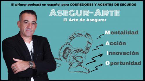Rafael Bonilla estrena Asegur-Arte, un podcast para mediadores de seguros.