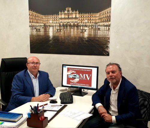 MV Aseguradores firma un acuerdo de colaboración con Red Mediaria.