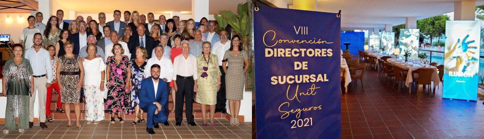Unit Seguros celebra su VIII convención de directores.