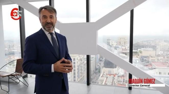 El director general de Asociación Europea, Joaquín Gómez, destaca la implicación que tiene la compañía con su red de mediación..