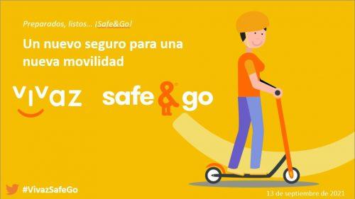 """Línea Directa Aseguradora lanza """"Vivaz Safe & Go"""", el primer seguro de pago por uso para usuarios de Vehículos de Movilidad Personal."""