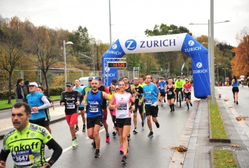 Zurich Seguros ofrece dorsales gratis para el Zurich Maratón San Sebastián y el Zurich Maratón Málaga,