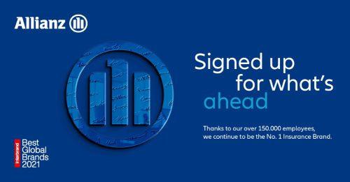 Allianz es la primera marca aseguradora mundial por tercer año consecutivo.