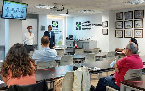 Comienza el XXVII Curso de Formación Superior en Seguros del Colegio de Mediadores de Granada.