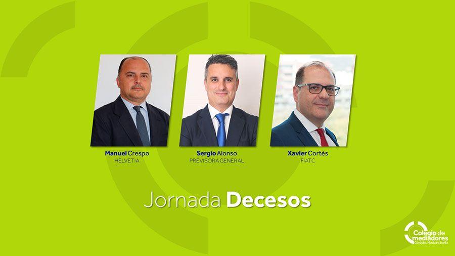 Colmedse debate sobre el Seguro de Decesos junto a Helvetia, FIATC, Previsora General y Exequie.