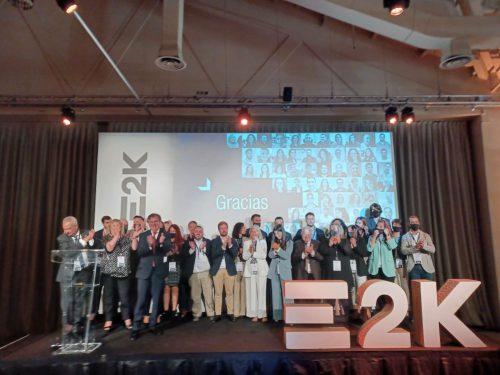 E2K desvela sus líneas de futuro en un encuentro con su red y compañías.