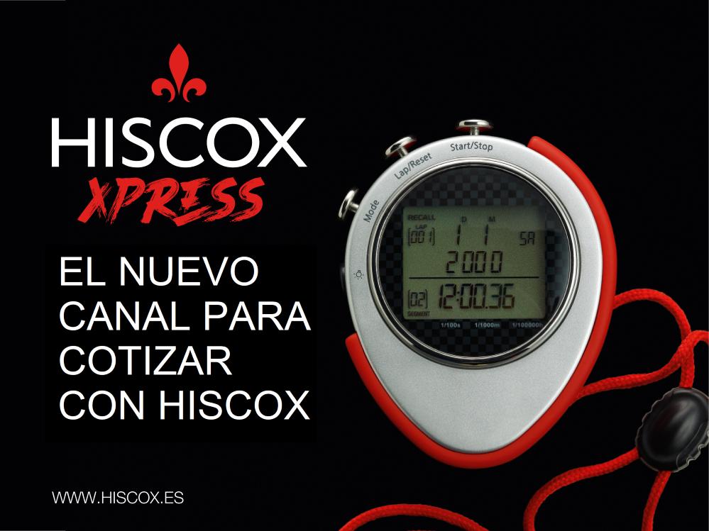 Hiscox Xpress, el nuevo canal para cotizar directamente desde la web de Hiscox.