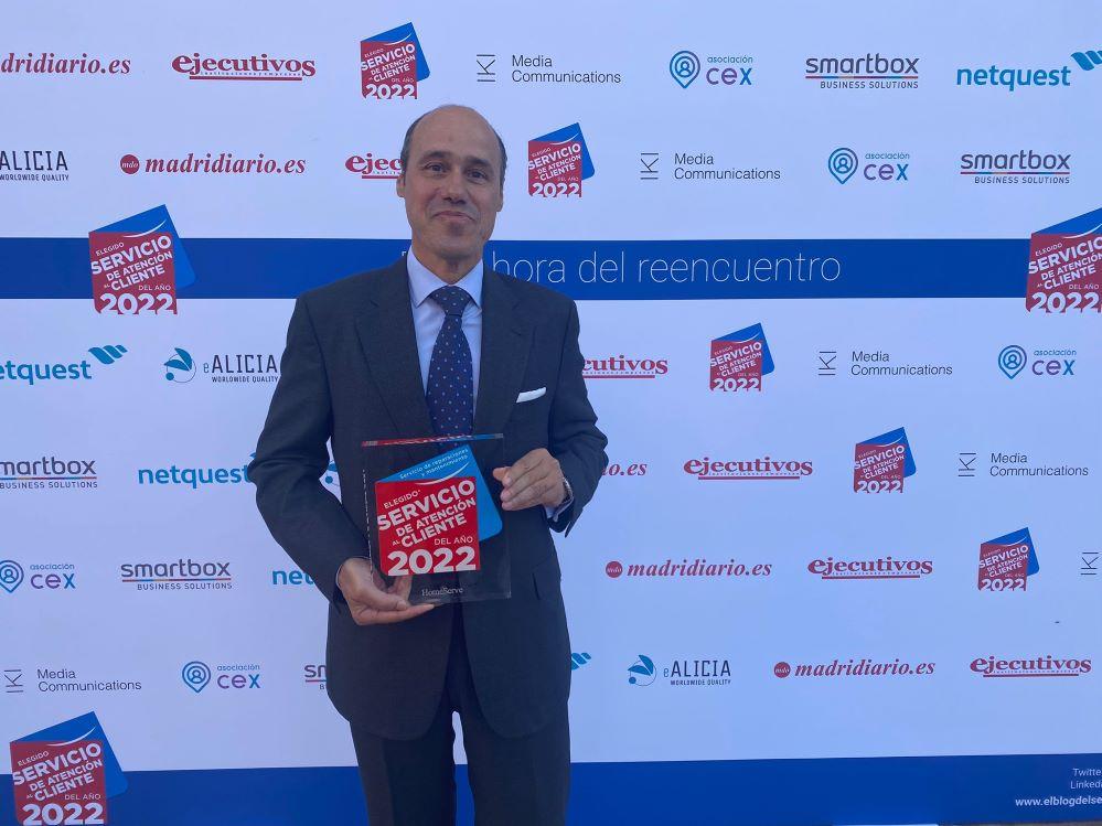Arturo Marzal, secretario general de HomeServe.