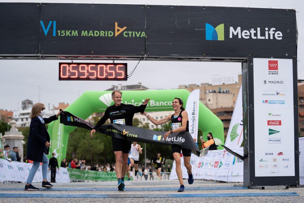 La VI 15 Km MetLife Madrid Activa mantiene su compromiso con el TDHA.