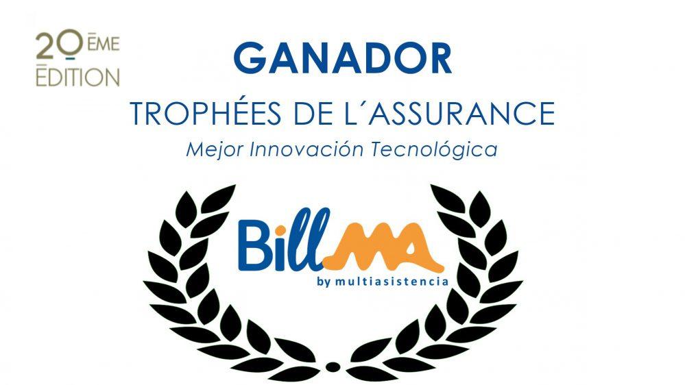 Multiasistencia gana el premio Trophées de l´Assurance a la mejor innovación tecnológica.