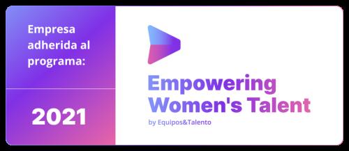 Pelayo se adhiere al Programa Empowering Women´s Talent.