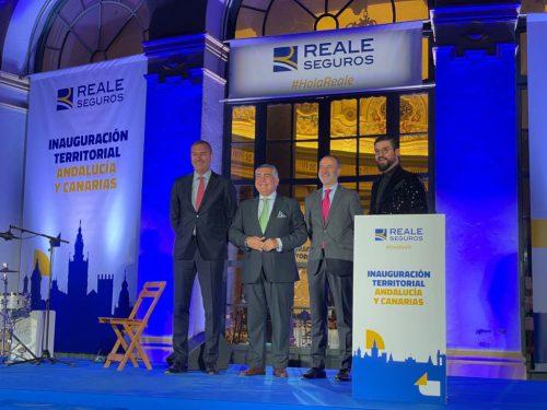 Reale Seguros inaugura su nueva sede territorial en Sevilla.