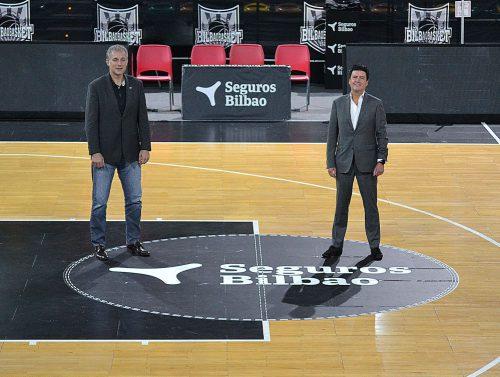 Seguros Bilbao ratifica su apoyo al Bilbao Basket por noveno año consecutivo.